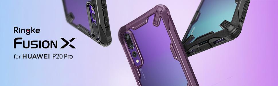husa Ringke Fusion X pentru Huawei P20 PRO