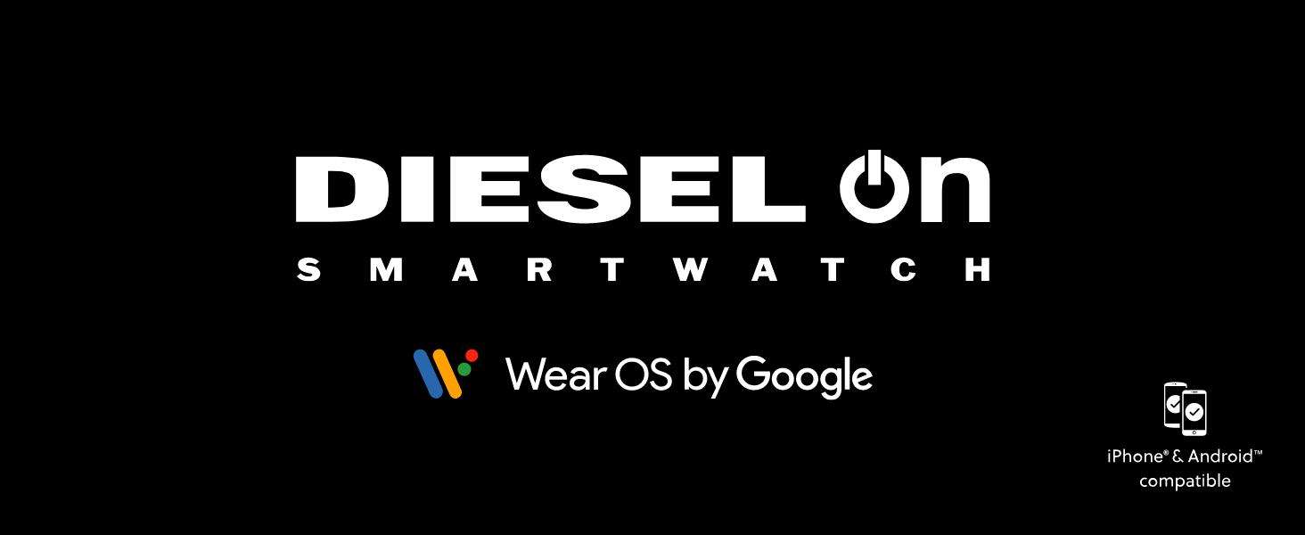 Diesel watch Axial smartwatch