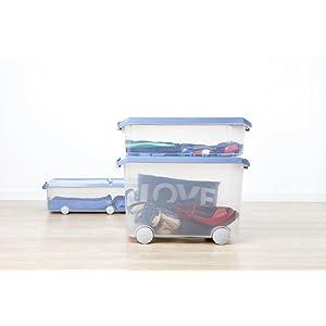 Las cajas de ordenación TATAY son unas de las más resistentes del mercado gracias al grosor de sus paredes, fabricadas en polipropileno de alta calidad.