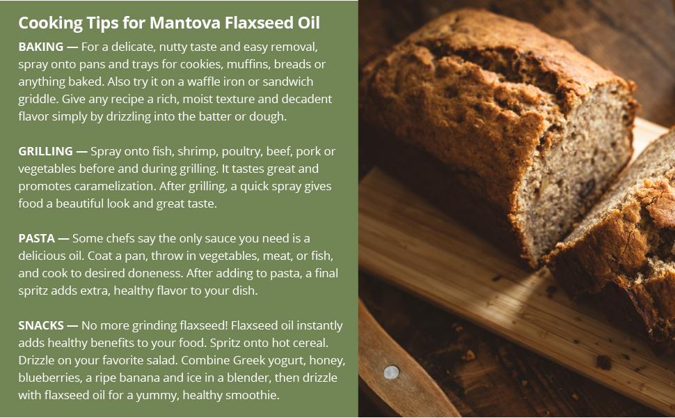 Mantova, Flaxseed Oil, Flaxseed