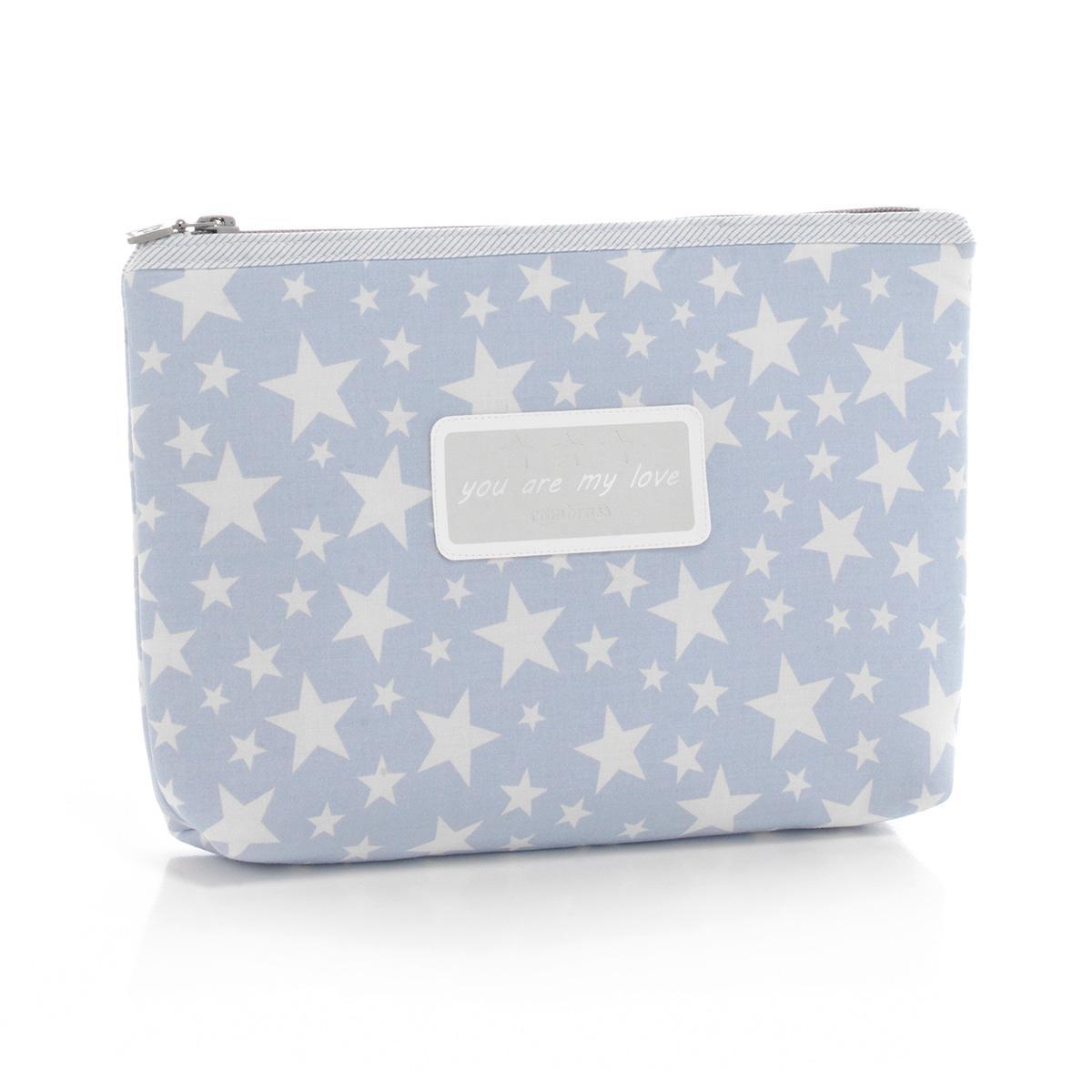 Cambrass Star - Bolsa de aseo, color azul celeste