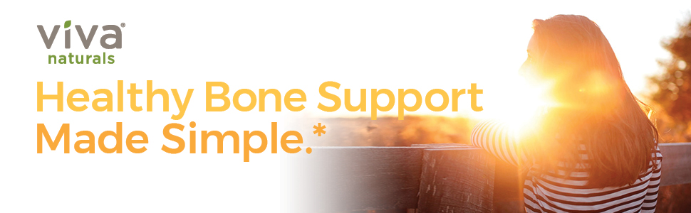 Healthy bone support made simple