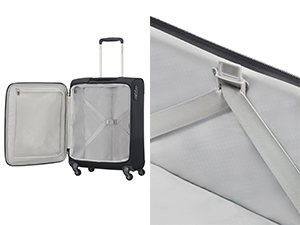 base boost; luggage; suitcase; cabin; hand lugagge; check-in suitcase; tsa lock; smart fix; spinner