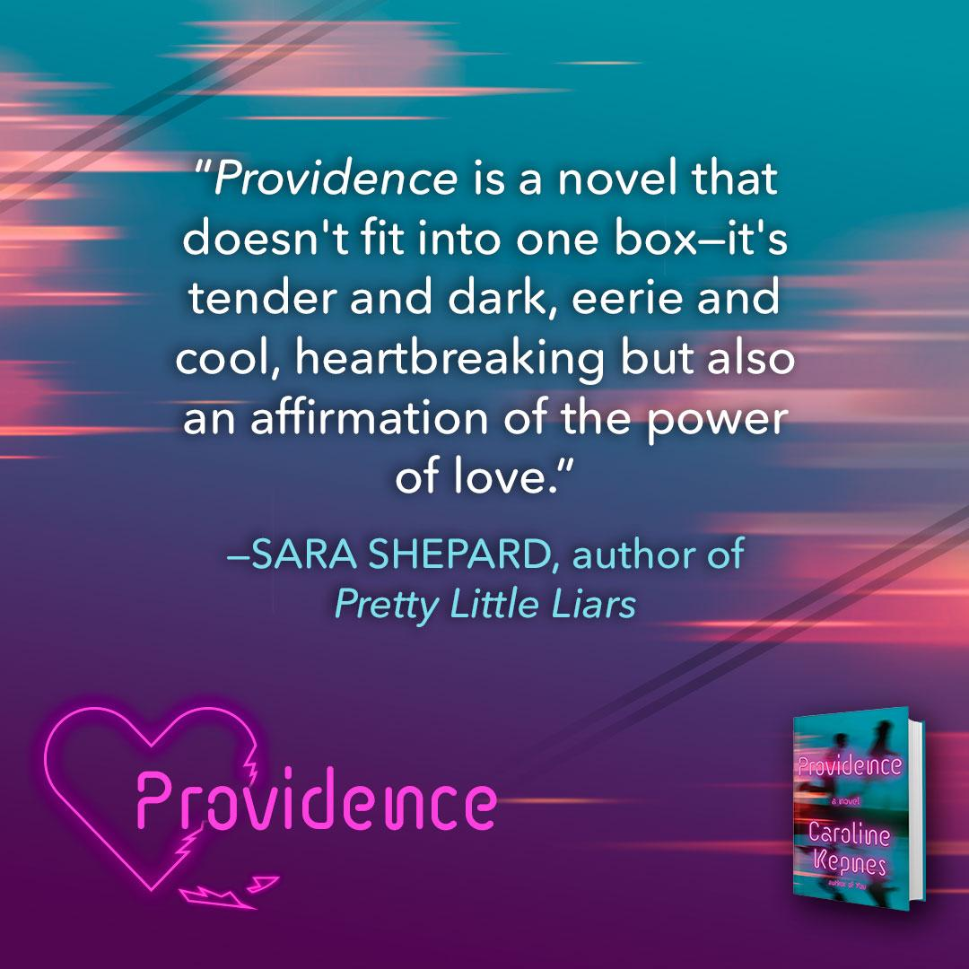 Amazon.com: Providence: A Novel (9780399591433): Caroline Kepnes: Books