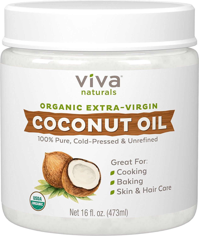 amazon com viva naturals organic extra virgin coconut oil 16