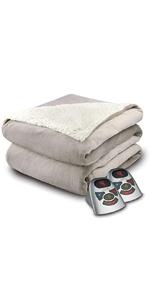 Velour Sherpa Blanket