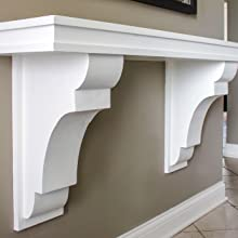 table corbels, table brackets