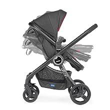 Chicco Urban Plus - Carrito transformable en capazo y silla de ...