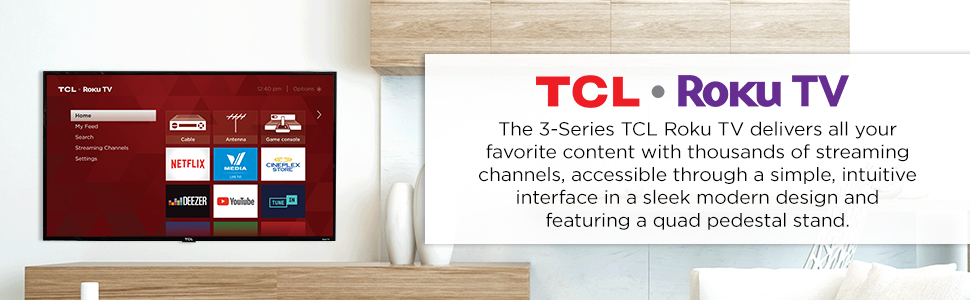 TCL 3 Series Introduction
