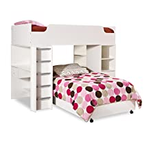 Amazon Com Imagine Collection Twin Loft Bed With Storage