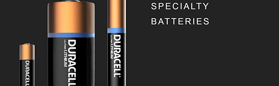 Duracell Specialty Batteries