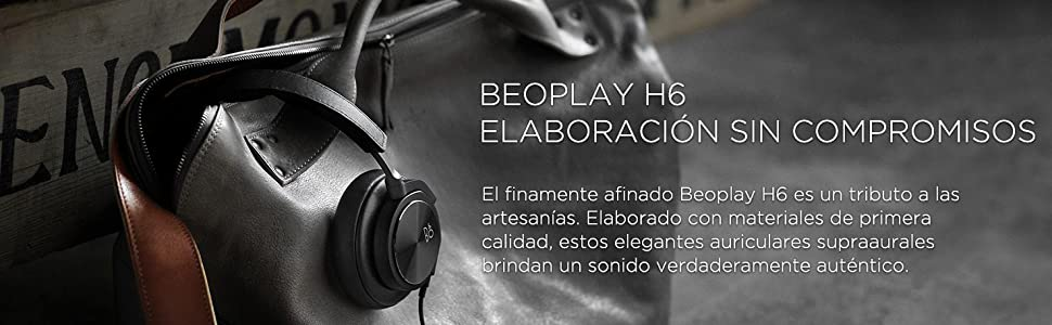 Beoplay H6, B&O PLAY, Auriculares, Auriculares supraaurales