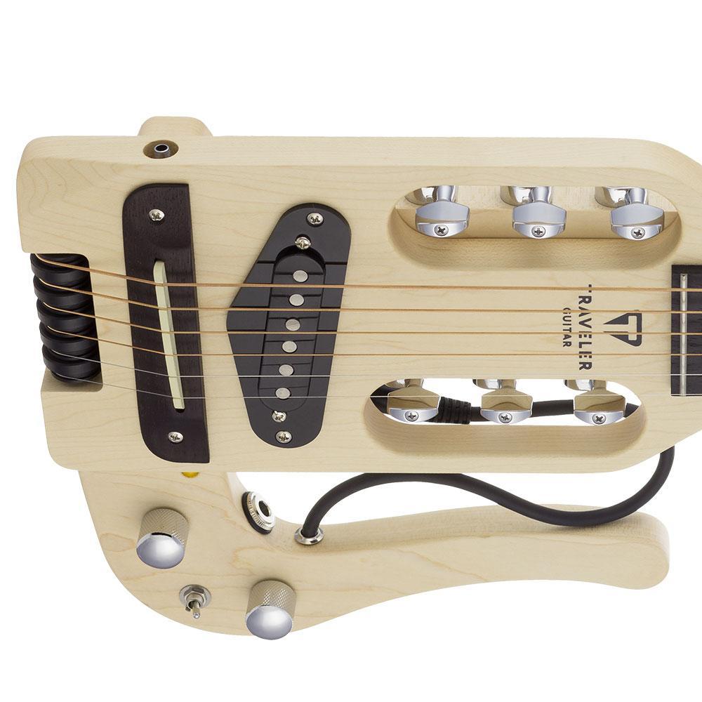 traveler guitar pro series acoustic electric travel guitar with gig bag musical. Black Bedroom Furniture Sets. Home Design Ideas
