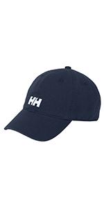 helly hansen logo cap with hh logo