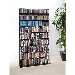Amazon Com Atlantic Elite Media Storage Cabinet Large