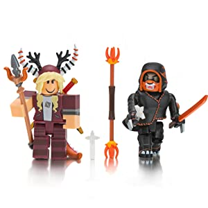 Roblox Vivalavixen And Tohru The Phantom Claw Two Figure Pack - toy knife roblox