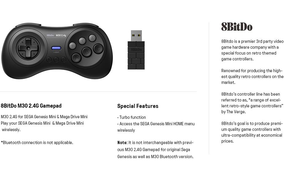 8bitdo sega genesis mini controller mega drive mini controller nintendo switch controller