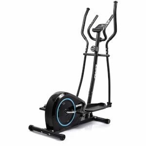 Zipro Erwachsene Magnetischer Crosstrainer Burn bis 120kg Eine Schwungmasse von 8 kg Schwarz