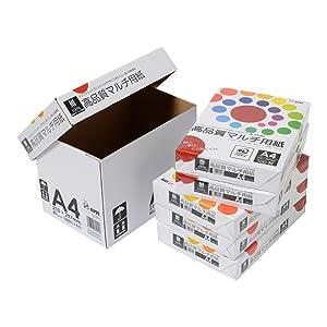 高品質マルチコピー用紙、インクジェット用紙、A4