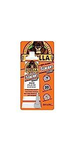 Gorilla Clear Silicone Sealant Squeeze Tube