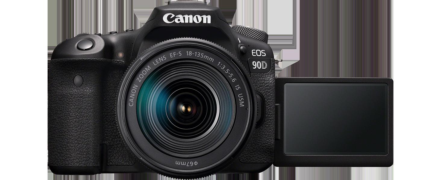 Canon Eos 90d Spiegelreflexkamera Gehäuse Mit Kamera