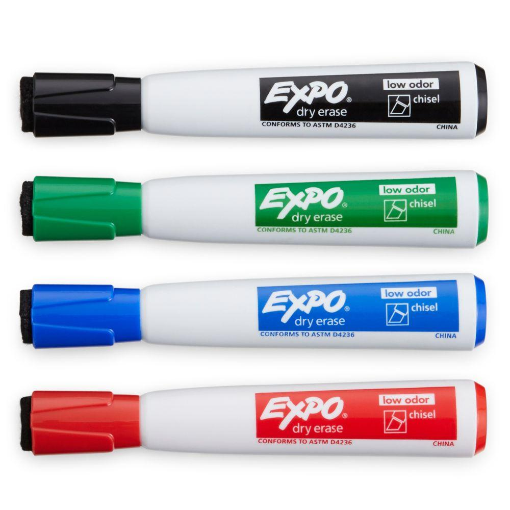 expo click low odor dry erase retractable markers fine. Black Bedroom Furniture Sets. Home Design Ideas