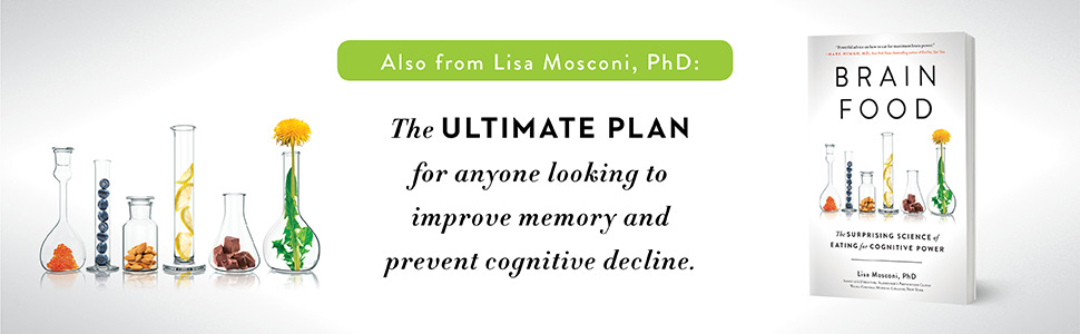 Brain Food, Lisa Mosconi, memory, cognitive function, health books