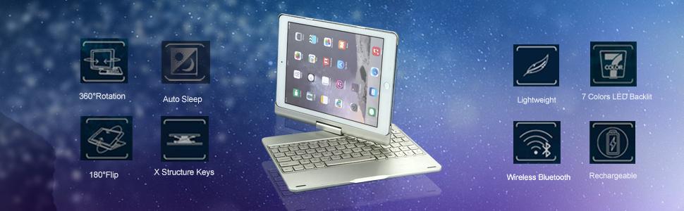 backlit keyboard case