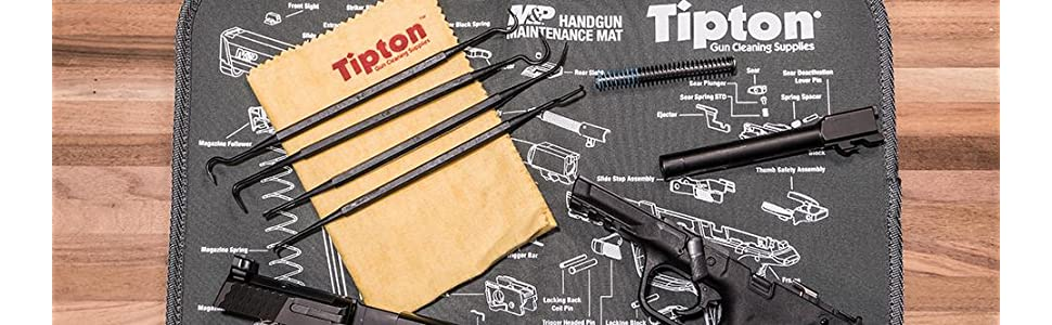 cleaning picks, gun cleaning picks, tipton, tipton gun cleaning supplies, polymer cleaning picks
