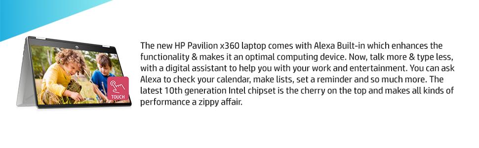 Laptop with Alexa