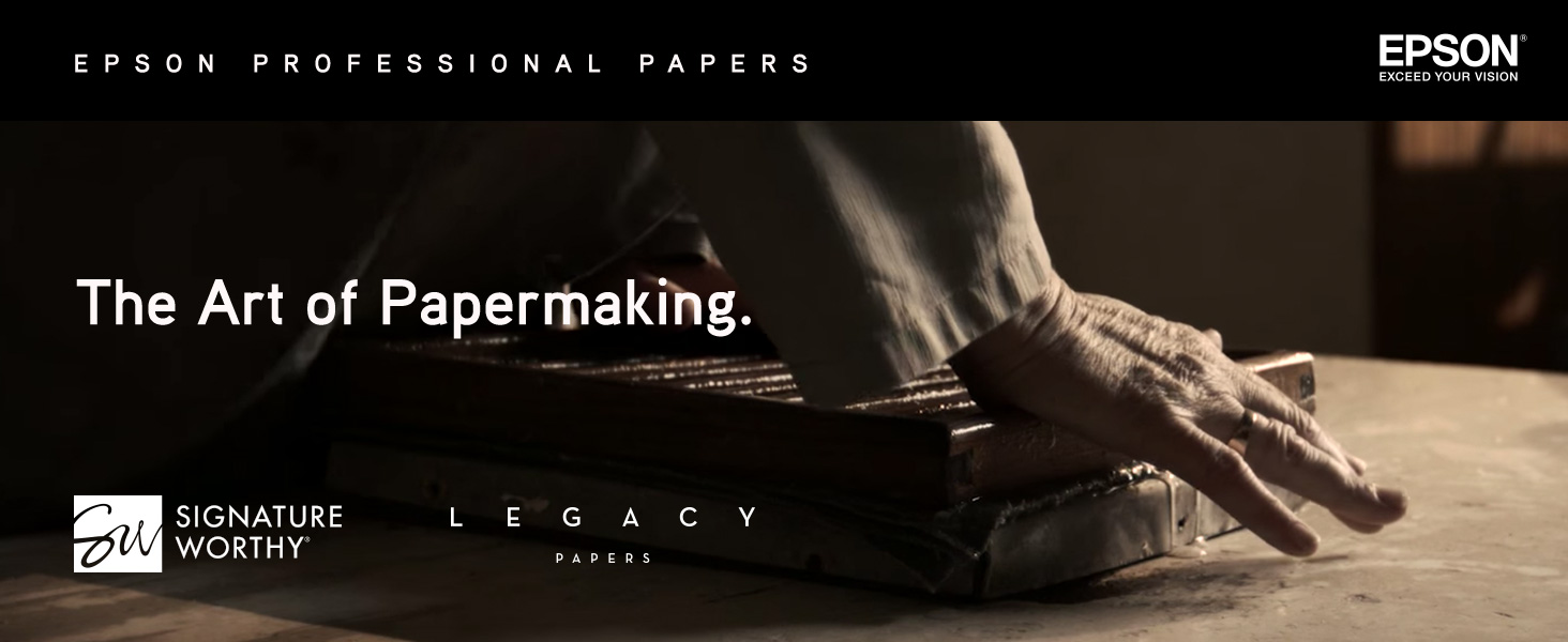 legacy paper, epson professional printing, professional paper, printing paper, photo paper
