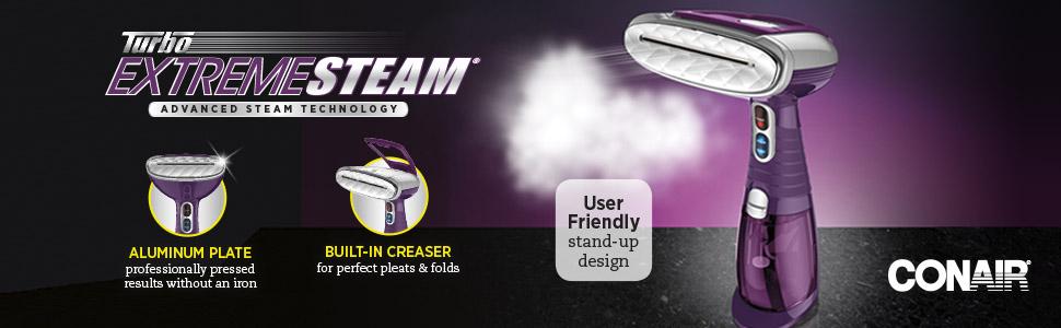 Amazon.com: Conair - Vaporizador para tela de mano de vapor ...