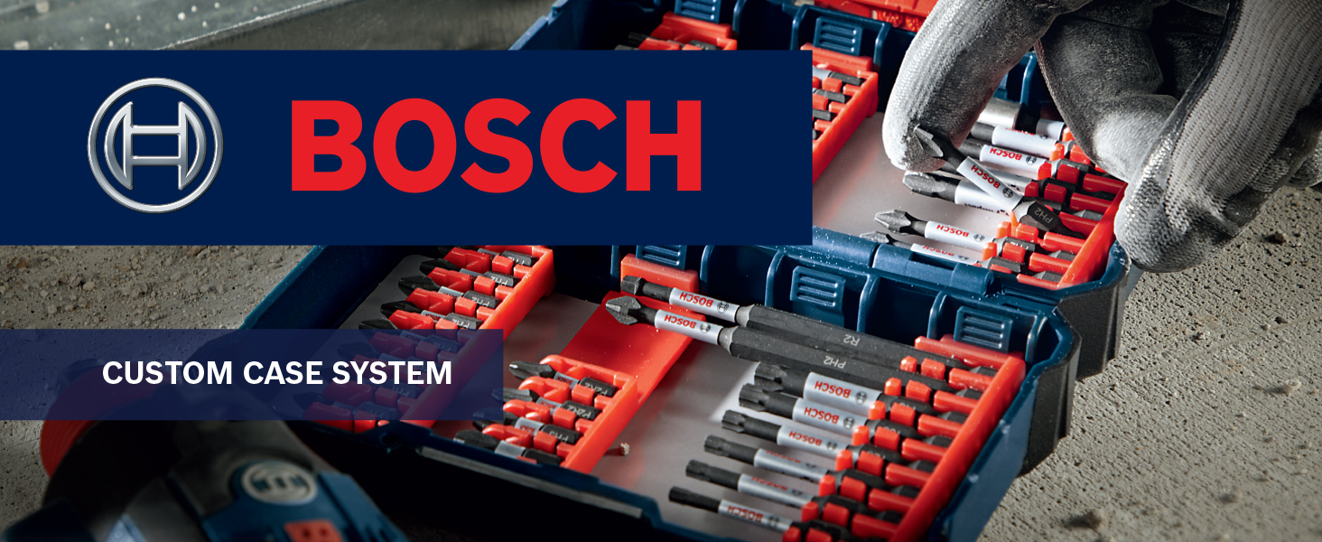 Bosch 24 PC Impact Black Oxide Screwdriver with Case Brand New
