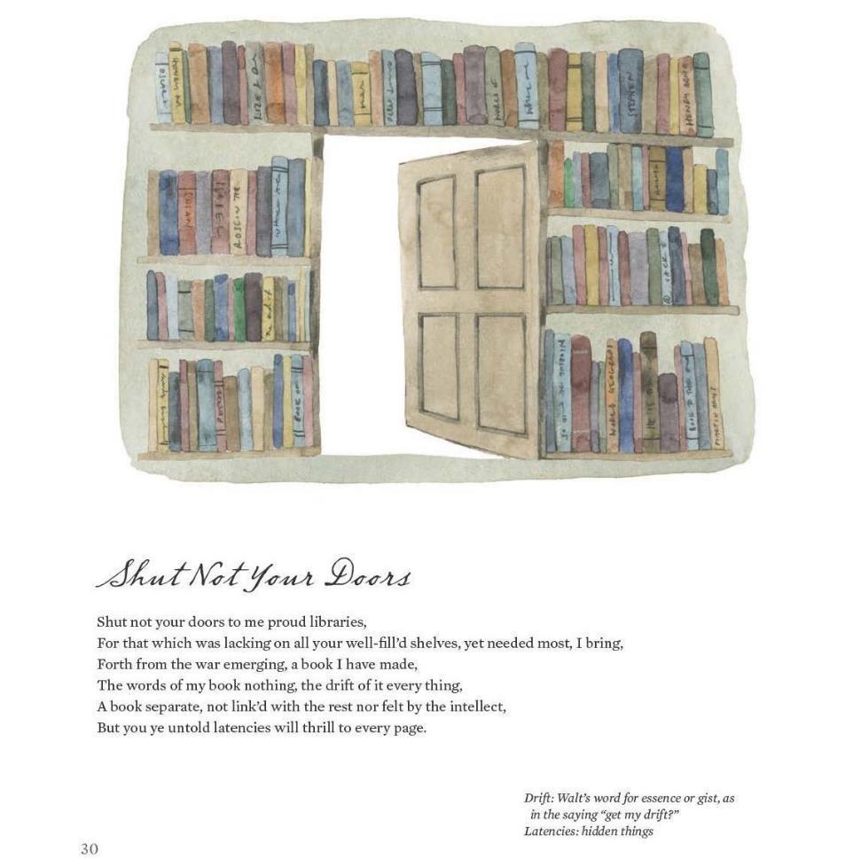 Amazoncom Poetry For Kids Walt Whitman 9781633221505