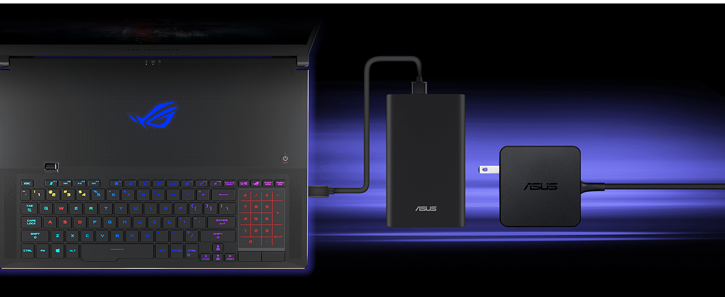 "ASUS ROG Zephyrus S GX701 Gaming Laptop, 17 3"" 144Hz Pantone Validated Full  HD IPS, GeForce RTX 2080, Intel Core i7-8750H CPU, 16GB DDR4, 1TB PCIe"