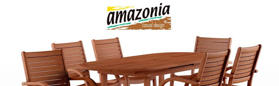 Super Quality Eucalyptus Wood Ia Arizona 7 Piece Oval Outdoor Extendable Dining Set Durable And Ideal For Patio And Backayard Patio Furniture Sets Dining Sets