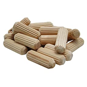 Woodworking Dowel Pins Fluted Pins Dowel Joinery Woodjoining