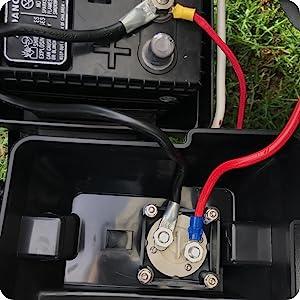 Amazon.com: Ampper Battery Switch, 12-48 V Battery Power ...