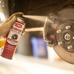 brakleen brake cleaner CRC degreaser