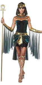 Women's Costumes, Ancient Egyptian Costume, Cleopatra, Anubis, Osiris, King Tut, Nefertiti, Bastet