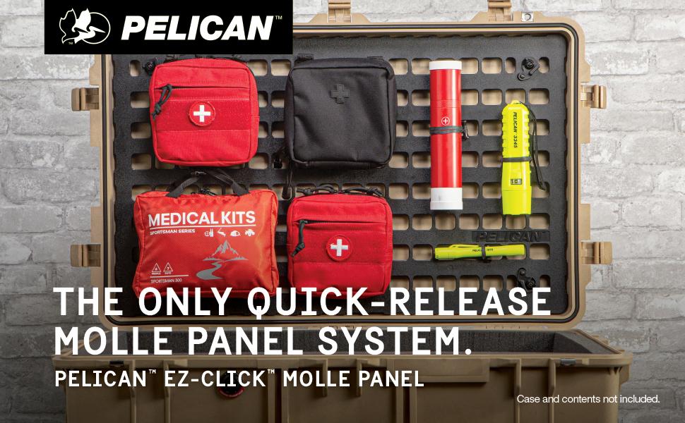 Pelican EZ-Click Molle Panel