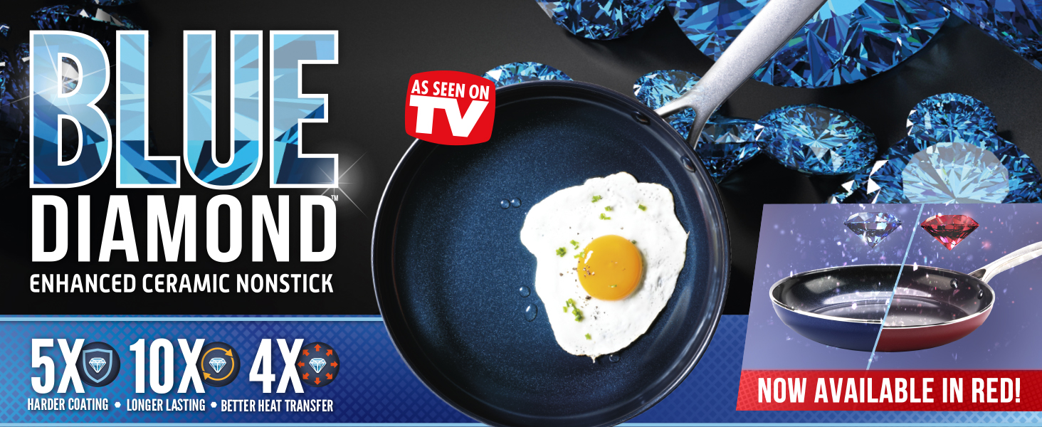 Blue Diamond, cookware, nonstick, frypan