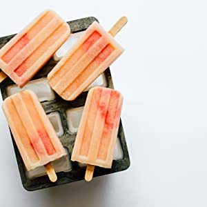 Creamy Pink Grapefruit - For The Love Of Popsicles: Naturally Delicious Icy Sweet Summer Treats From A–Z