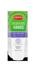 O'Keeffe's Working Hands Night Treatment Hand Cream Tube