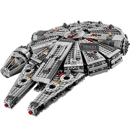LEGO Star Wars Millennium Falcon Building Kit 75105 1329 Pieces ...