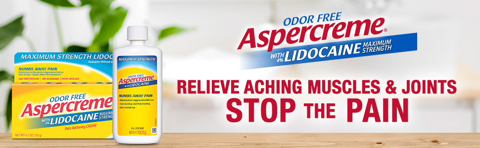 Extra-strength topical cream for numbing pain.