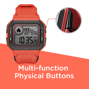 Multi-Function Physical Buttons