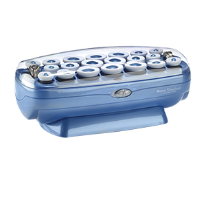 hot rollers, various sized rollers, roller set, hairsetter