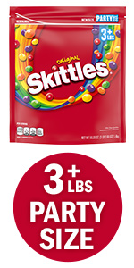 SKITTLES Original Candy Party Size