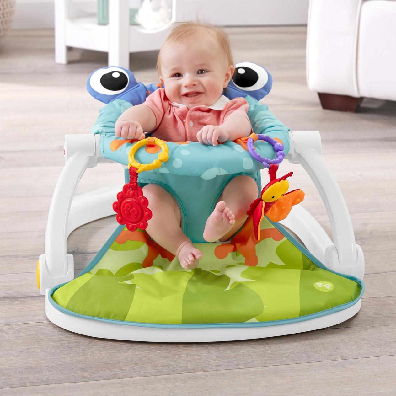 Amazon Com Fisher Price Sit Me Up Floor Seat Infant